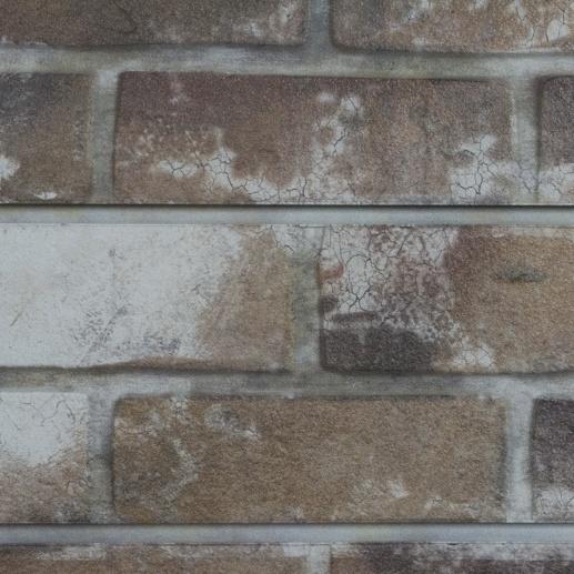 Old Paint Sandstone Brick Slatwall Retail Display USA
